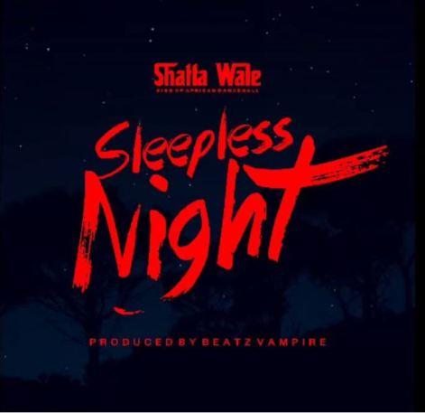 Shatta Wale – Sleepless Night artwork