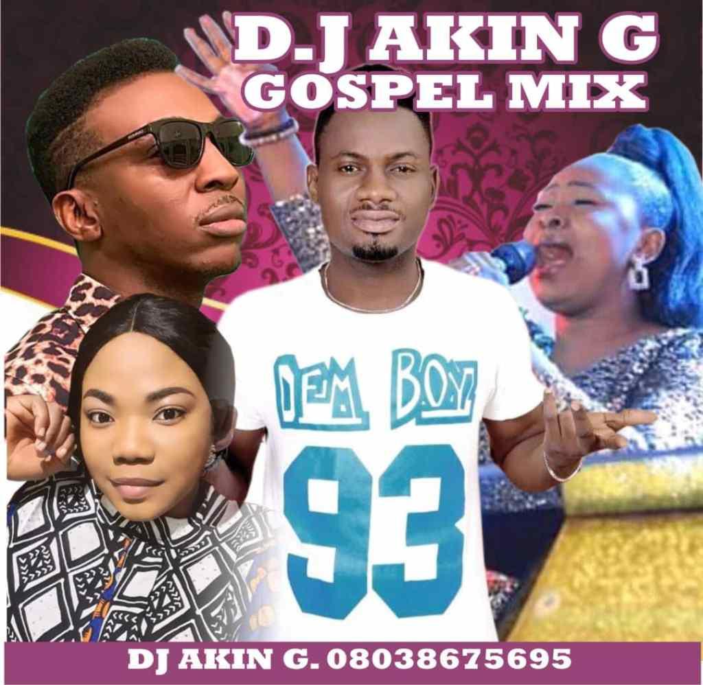 DJ Akin G - Gospel Mix (Mixtape)