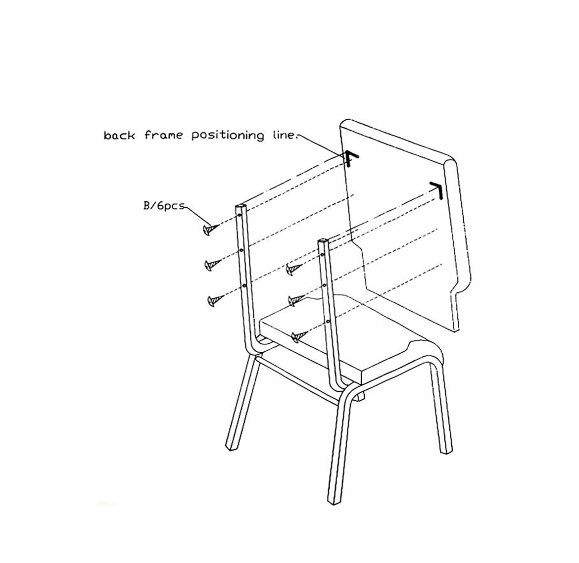 Chair Assembly Diagram