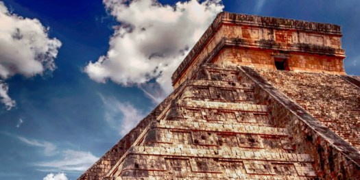 Mexico mayan temple Xclusivity
