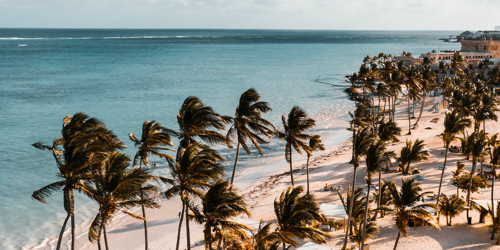 Dominican republic beach blog header