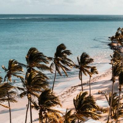 Dominican republic beach blog header
