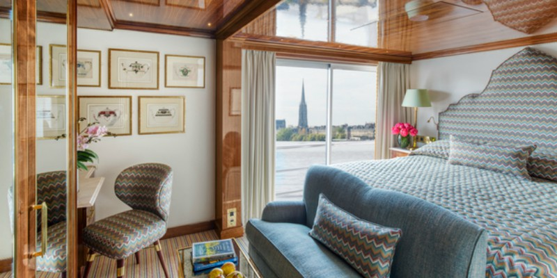 Uniworld Boutique River Cruises rooms