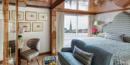 Uniworld Boutique River Cruises rooms
