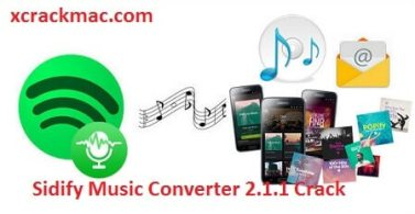 Sidify Music Converter 2.1.1 With Crack Full Serial Key 2020 Free Download