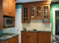 Are oak cabinets totally outdated?