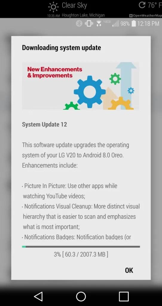 Lg V20 Xda : Verizon, Starts, Getting, Android, Update