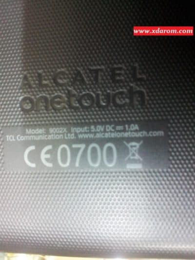 Alcatel Onetouch 9002X MT6582 4 4 2 Scatter firmware flash