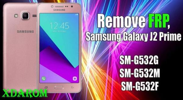How to Bypass Samsung J2 Prime FRP Lock