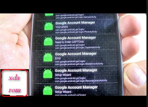 Google Account Manager APK Download   Android All Version Works   XDAROM.COM