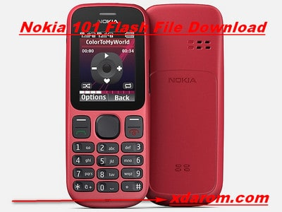 Nokia 101 Flash File