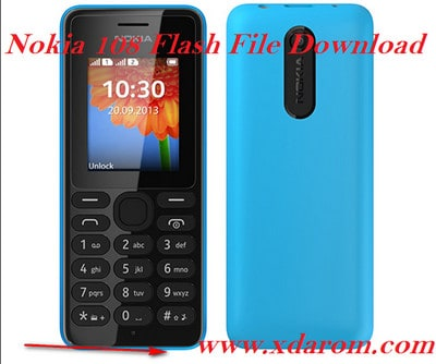 Nokia 108 Flash File (RM-944,RM-945) All Version Download