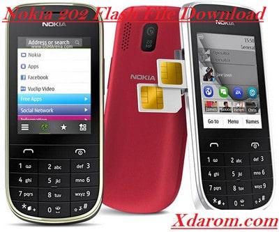 Nokia 202 Flash File