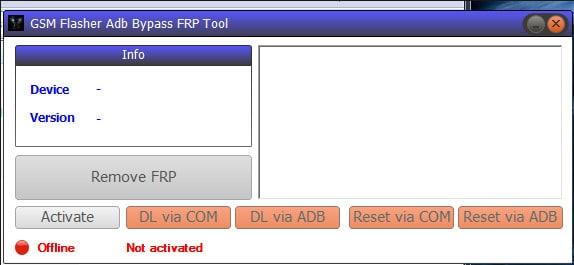 GSM ADB FRP Bypass Tool