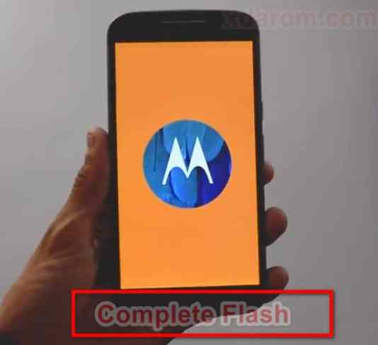 Moto G4 plus Flash Complete