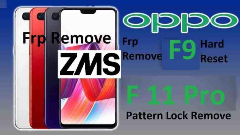 OPPO F11 Pro F9 F11 Pattern Lock Reset Done