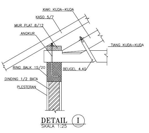 rangka atap baja ringan setengah kuda 1(one)   jasa hitung rab struktur gambar imb ...