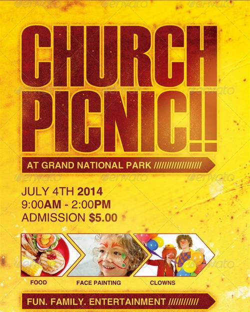 Free Church Flyer Templates Microsoft Word - FREE DOWNLOAD