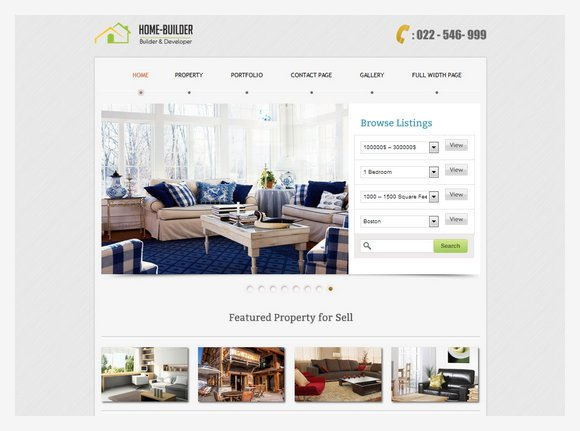 21 Feature Rich Real Estate Wordpress Themes XDesigns