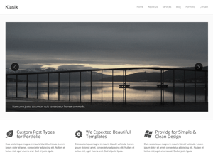 Freebie Klasik WordPress Theme XDesigns