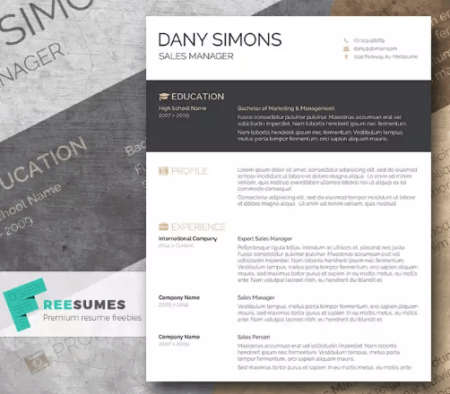 free modern creative resume templates - April.onthemarch.co