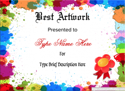 100 Huge Collection Of Free Certificate Templates Page