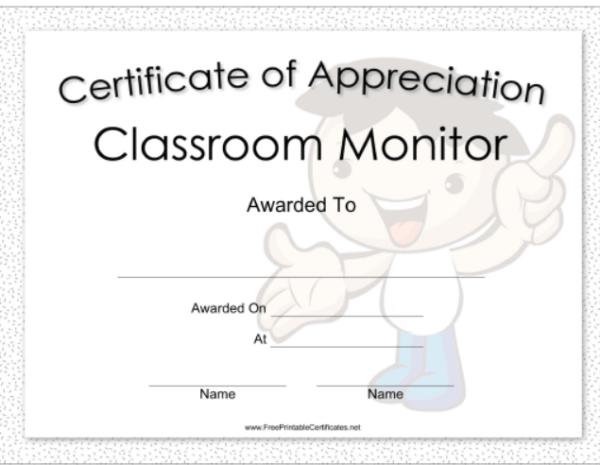 20+ Beautiful & Free Certificate of Appreciation Templates