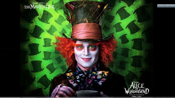 Alice and Wonderland Johnny Depp