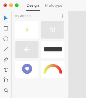 Adobe XD symbols