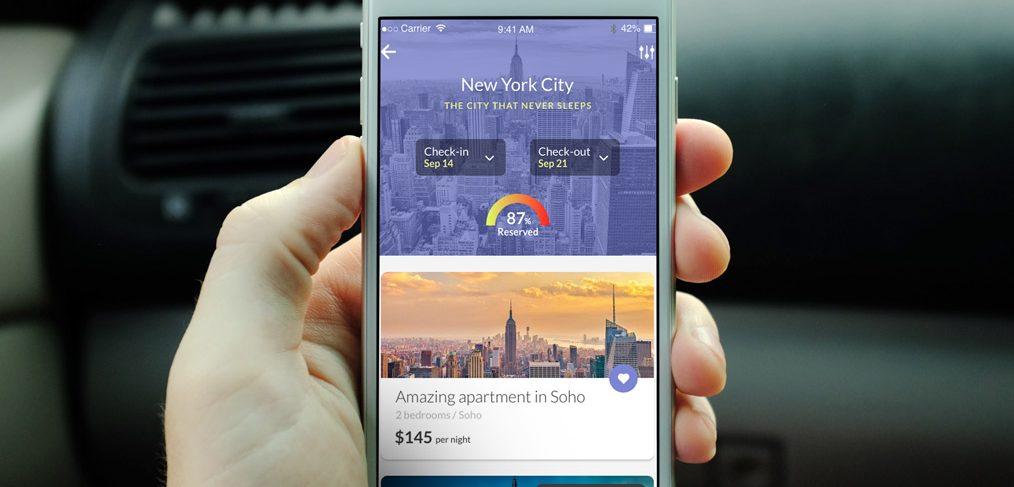 Travel App Adobe XD