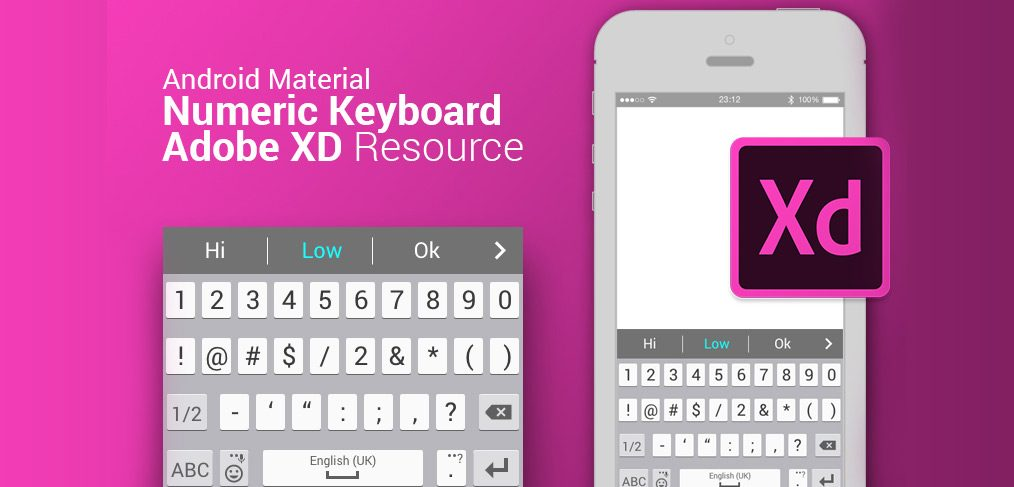 android numeric keyboard xd