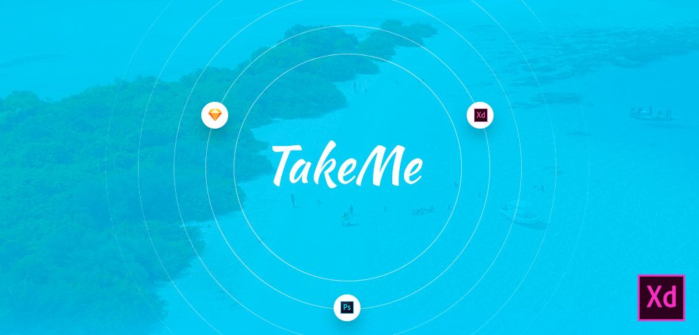 Take me XD Ui kit