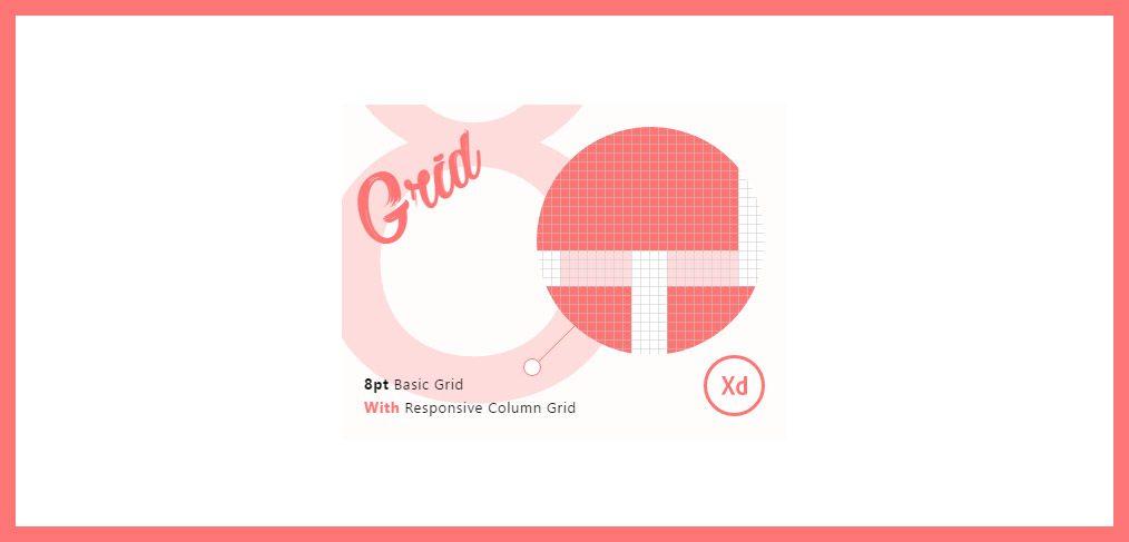 8pt grid xd