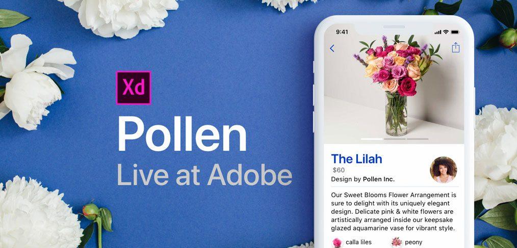 Pollen - Ecommerce XD app template