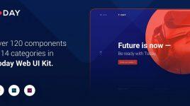 Today Web UI Kit for XD (Premium)