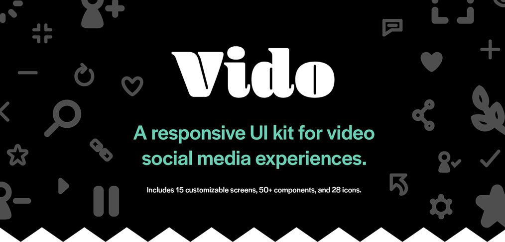 Video - Free Adobe XD UI kit