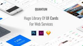 Quantum - High-end Premium UI kit for XD