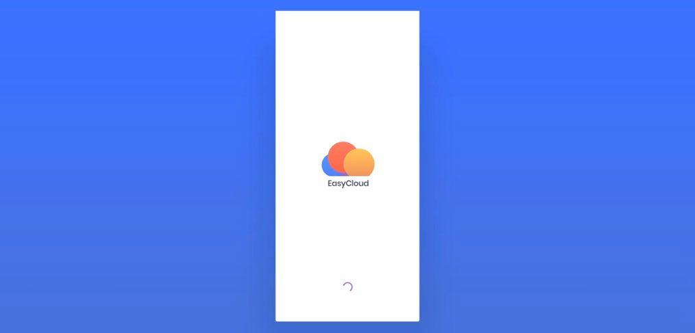 EasyCloud mobile animations