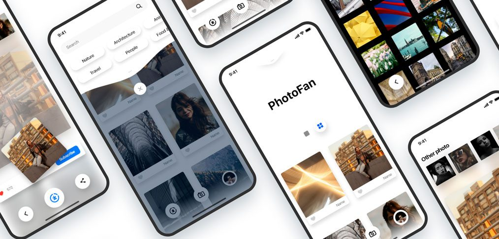 PhotoFan free XD concept