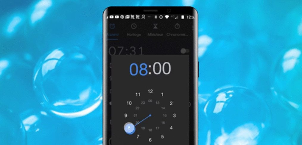 Android Clock Animation