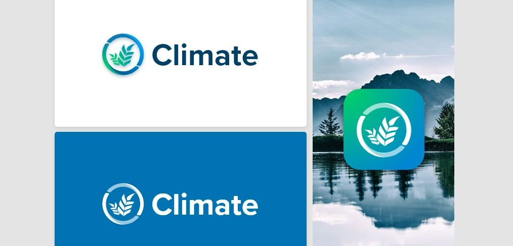 Climate logo concept for XD