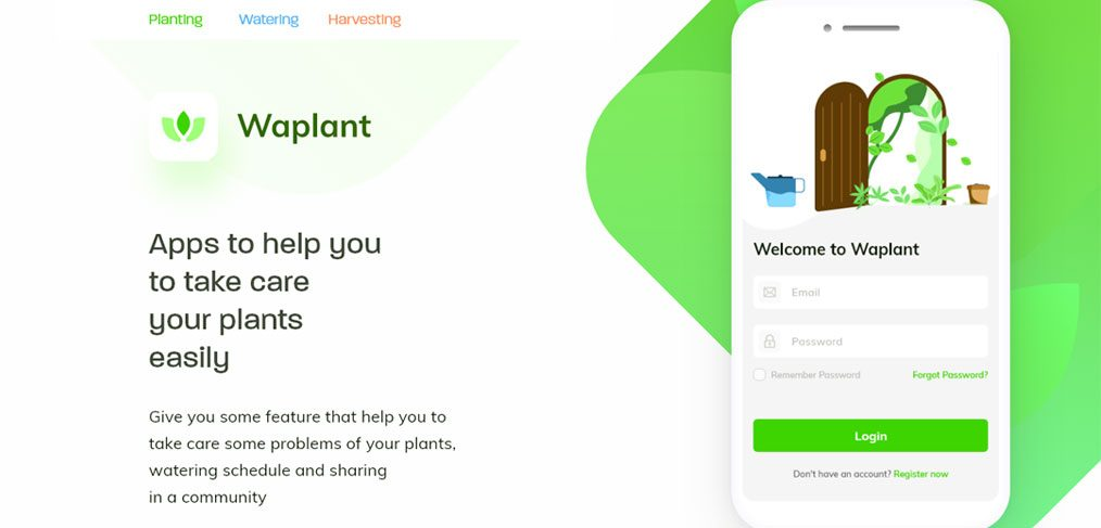 Waplant Free mobile XD UI kit