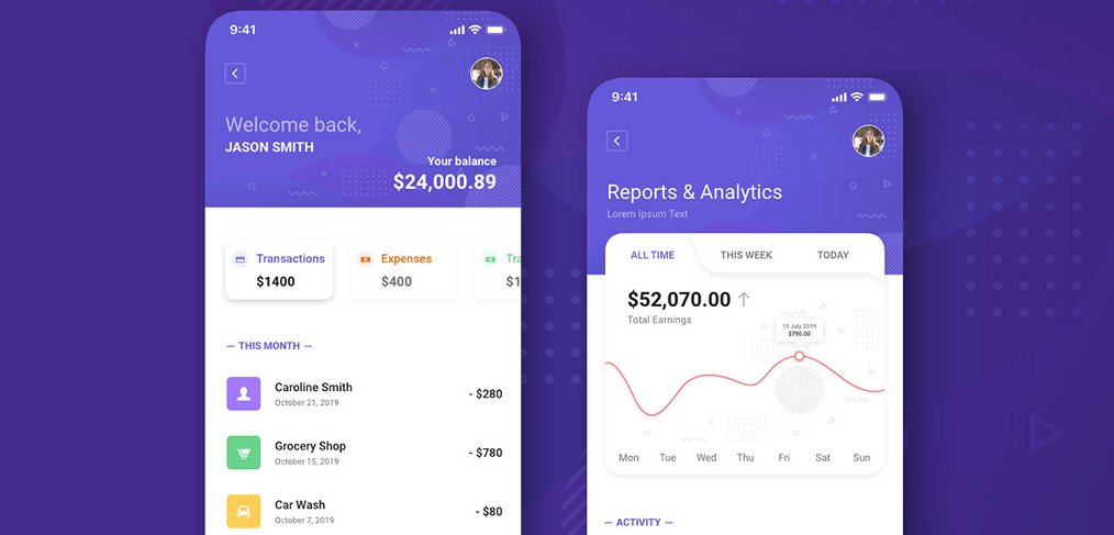 finance-app-mobile-xd-template