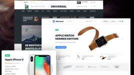 Universal - Premium UI kit for Adobe XD