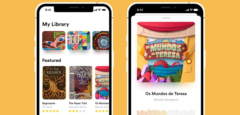 AudioBook XD mobile template