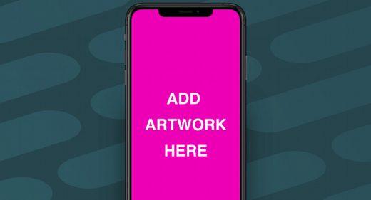 iPhone XR mockup for Adobe XD