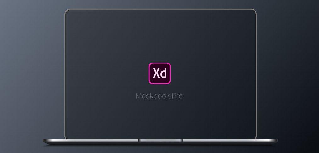 Free Macbook Pro XD mockup