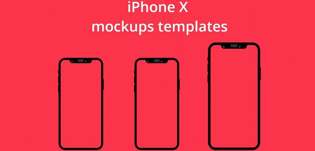FREE XD iPhone X mockups