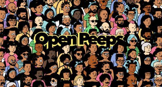 Open Peeps - Free illustration library