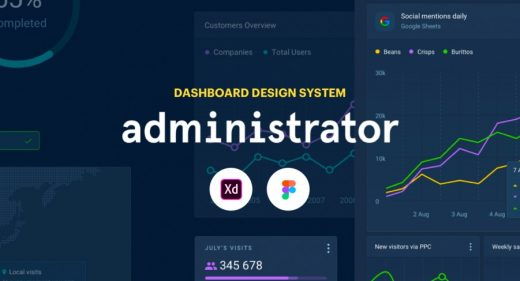 dashboard xd design system